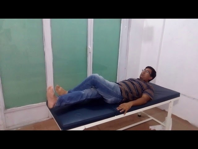 Sciatica pain exercise 3 by Chiropractor Aamir Shahzad CPT