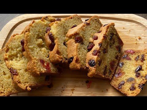 เค้กผลไม้รวม ฟรุตเค้ก | Fruit Butter Cake | แม่ลูกเข้าครัว