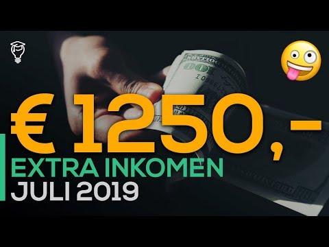 1250 euro extra inkomen in één maand! 😳