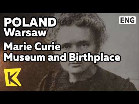 【K】Poland Travel-Warsaw[폴란드 여행-바르샤바]마리아 퀴리부인 생가, 박물관/Marie Curie Museum and Birthplace/Nobel Prize