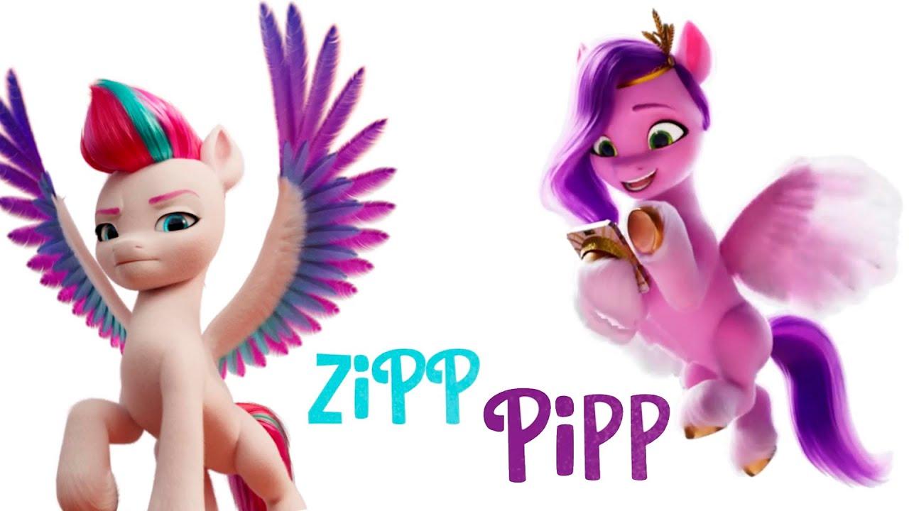 MLP: Generation 5 - New Characters Introduction: Pipp Petals & Zipp Storm -  YouTube