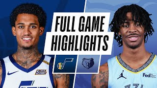 ... the utah jazz defeated memphis grizzlies, 111-107. mike conley recorded 26 pts (13 pts, 5-5 fg i...