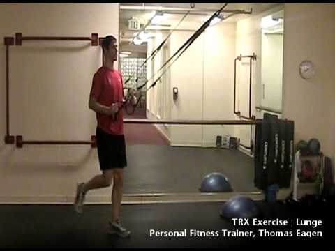 TRX Lunge Exercise | Seattle Athletic Club Downtown