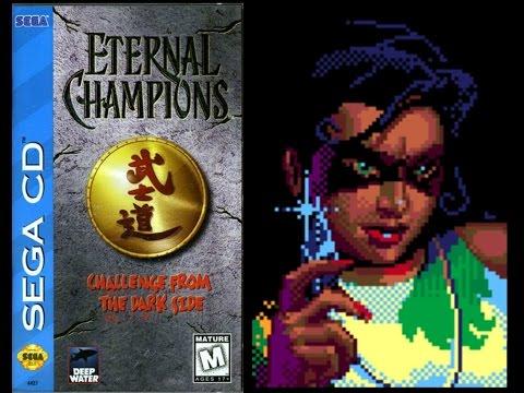 Eternal Champions: Challenge from the Dark Side (Sega CD) - Shadow Playthrough (Warrior)