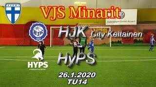 VJS Minarit TU14 HJK City Keltainen vs HyPS 06/07 26.1.2020