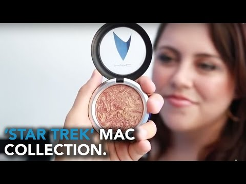 Exclusive Preview Of MAC Cosmetics 'Star Trek' Collection | WHOSAY