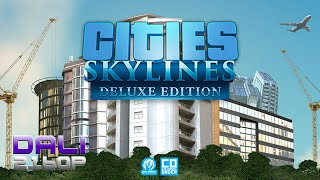 Cities: Skylines Deluxe Edition PC 4K Gameplay 2160p