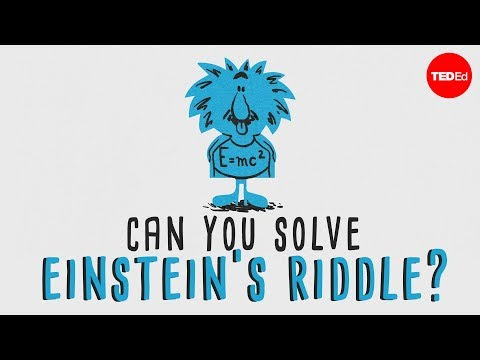 picture about Einstein's Riddle Printable titled Can your self fix \