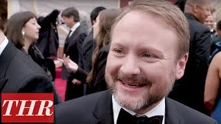 Rian Johnson on Meeting Bong Joon Ho, Writing 'Knives Out' Sequel & More! | THR