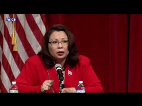 Senator Mark Kirk Mocks Tammy Duckworth