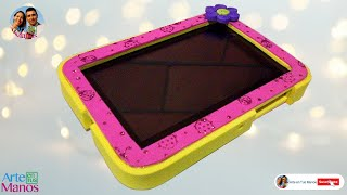 2c3955635 Estuche - Forro Protector para Tablet o Celulares en Foami - Activa los  Subtitulos