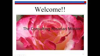 Consulting Rosarian Mission