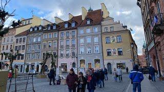 Февраль 2020г Варшава старый город Краковское предместье Закопаны горнолыжный курорт Канатная дорога