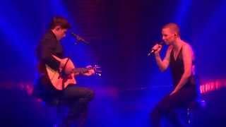 Anne Sila & Lilian Renaud - Je t'aimais, je t'aime et je t'aimerai @The Voice Tour Nantes - 26.06.15 streaming