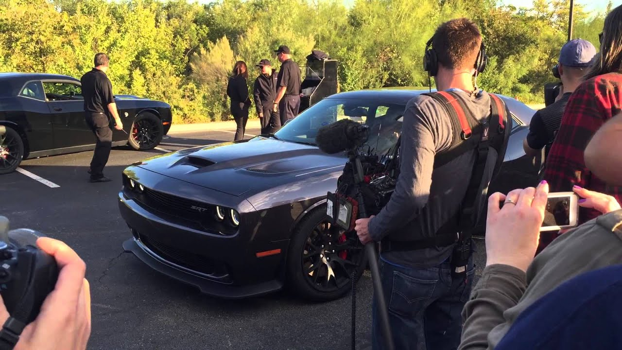 Richard Rawlings & Dennis Collins filming at Dodge Rocks Gas Monkey