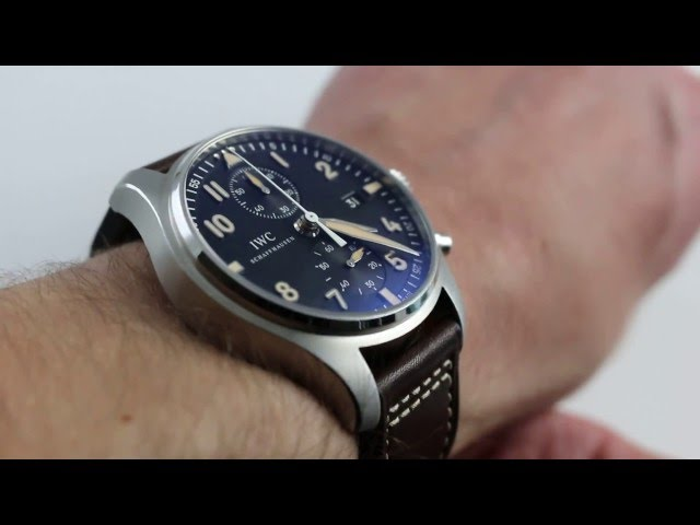IWC Pilots Chrono Collectors Forum CF3 Limited Edition 3878-08 Luxury Watch Review