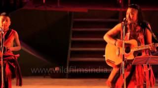 King of Naga blues: Guru Rewben Mashangva at the Sangai Fest