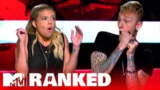 8 Celebs Face Their Deepest Fears 😨 Feat. Chanel, MGK, & More | Ranked: Ridiculousness