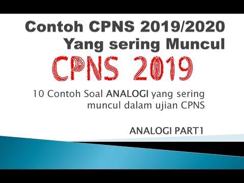 Contoh Soal Cpns 2020 Informasi Cpns Asn Indonesiainfo Cpns Asn Indonesia 2021