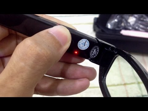 UNBOXING 720P HD Spy Eyewear Sunglasses Hidden Camera - AMAZON from YouTube · Duration:  5 minutes 35 seconds