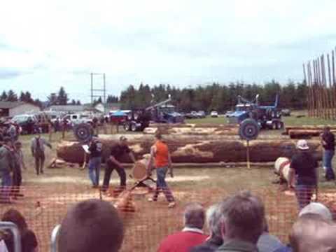 Clatsop County Logging Show 2008