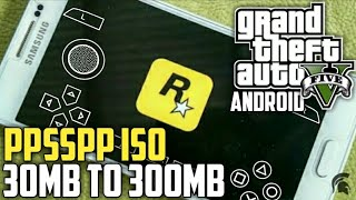 Download Offline 30mb Gta 5 Ppsspp Iso For Android 30mb To