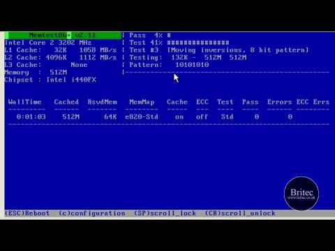 How To Test Your Computer Memory With Memtest86 And Windiag