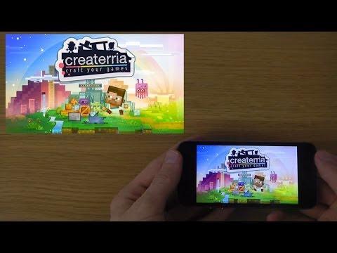 Createrria - craft your games iPhone 5S...