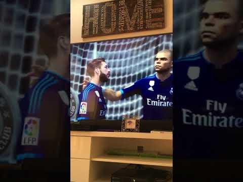 Melbourne city vs Real Madrid (FIFA 16)