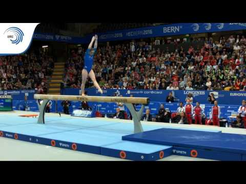 Aliya MUSTAFINA (RUS) – 2016 European Championships – Qualifications Beam
