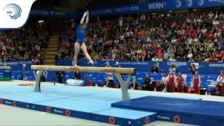 Aliya MUSTAFINA (RUS) – 2016 European Championships – Qualifications Beam