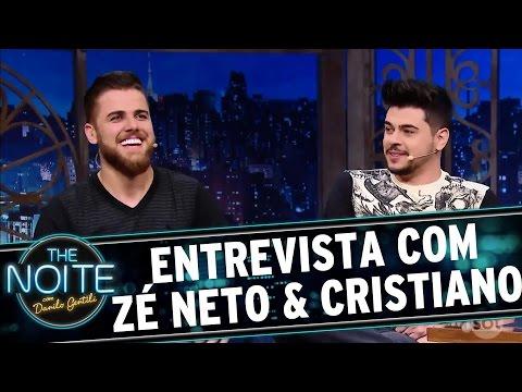 Entrevista com Zé Neto & Cristiano  The Noite 071216