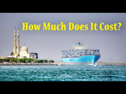 Suez Canal Crossing Cost | Charges, Fees, Toll | RoamerRealm