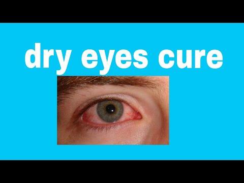 Dry eyes cure( chronic dry eyes).