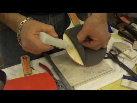 How repair tennis/pin pone racket. Rubber to wood in few seconds with German adhesive