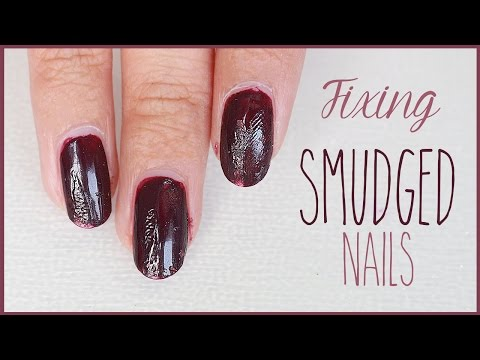 Nails HACK - How to Fix SMUDGED Nails   Quick Nail Art Tips!