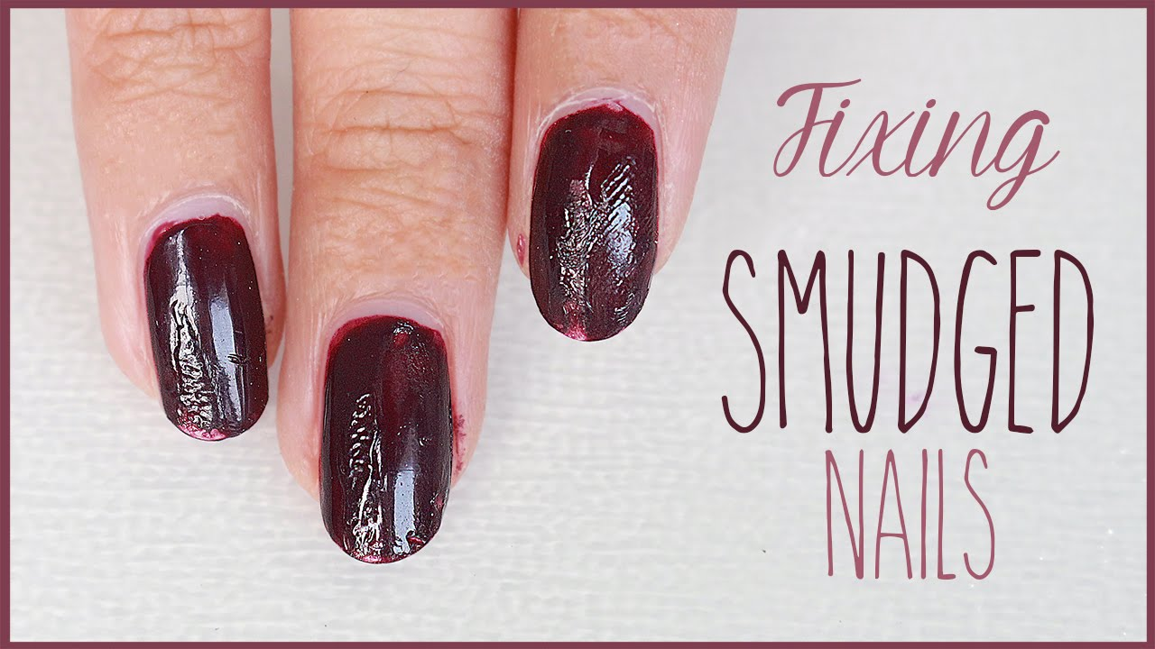 Nails Hack How To Fix Smudged Quick Nail Art Tips
