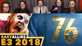 Bethesda Showcase - Easy Allies Reactions - E3 2018