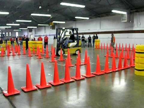 U S Open Forklift Rodeo 2009 3 Youtube
