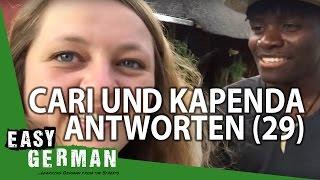 Cari und Kapenda antworten (29) - Deutsche Musik | Namibia | Akzente | Lieblingssprachen