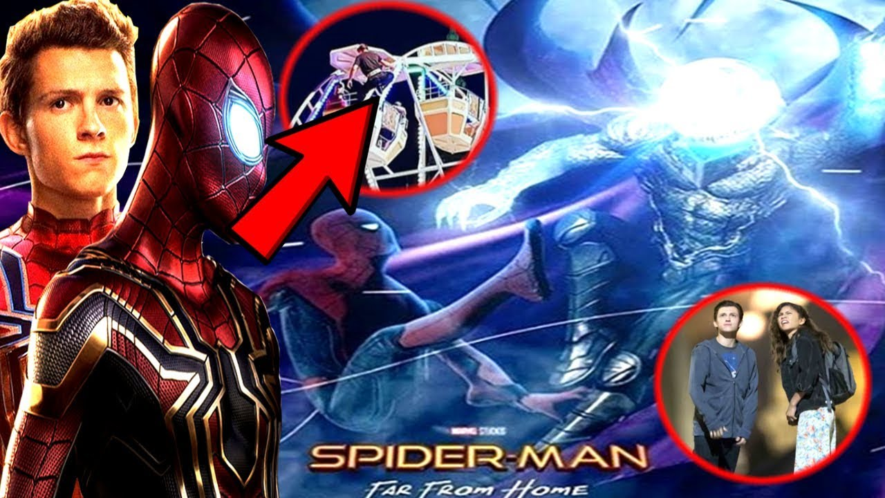 spider-man far from home leaked mysterio set video revealed! major