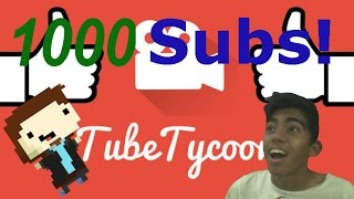 1000 Suscriptores! OwO #4 - Tube Tycoon - Go! Gamers