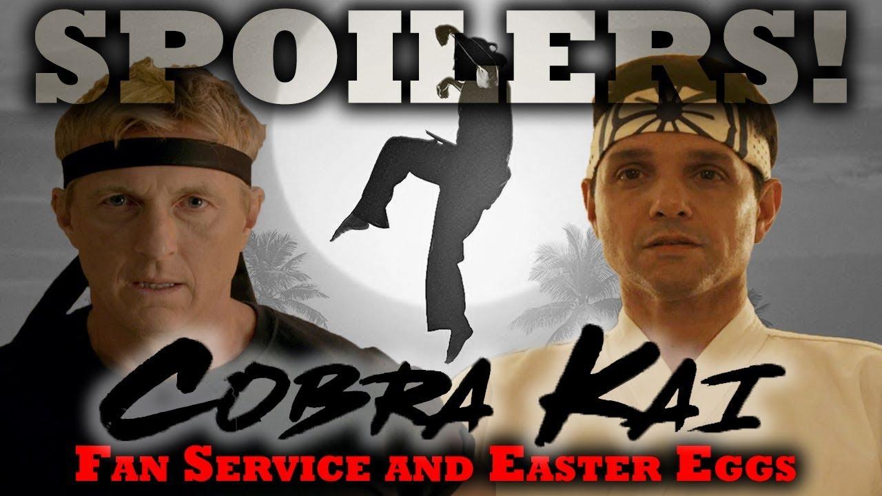 Cobra Kai Series: Season 1 Easter Eggs & Fan Service Review