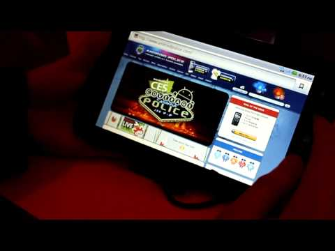 CES 2011: Quick Look at the dual-core Dell Streak 7 Android Tablet