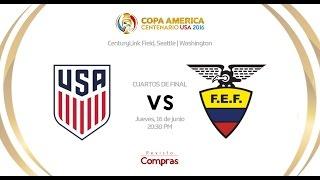 Copa América | USA vs Ecuador - Cuartos de final