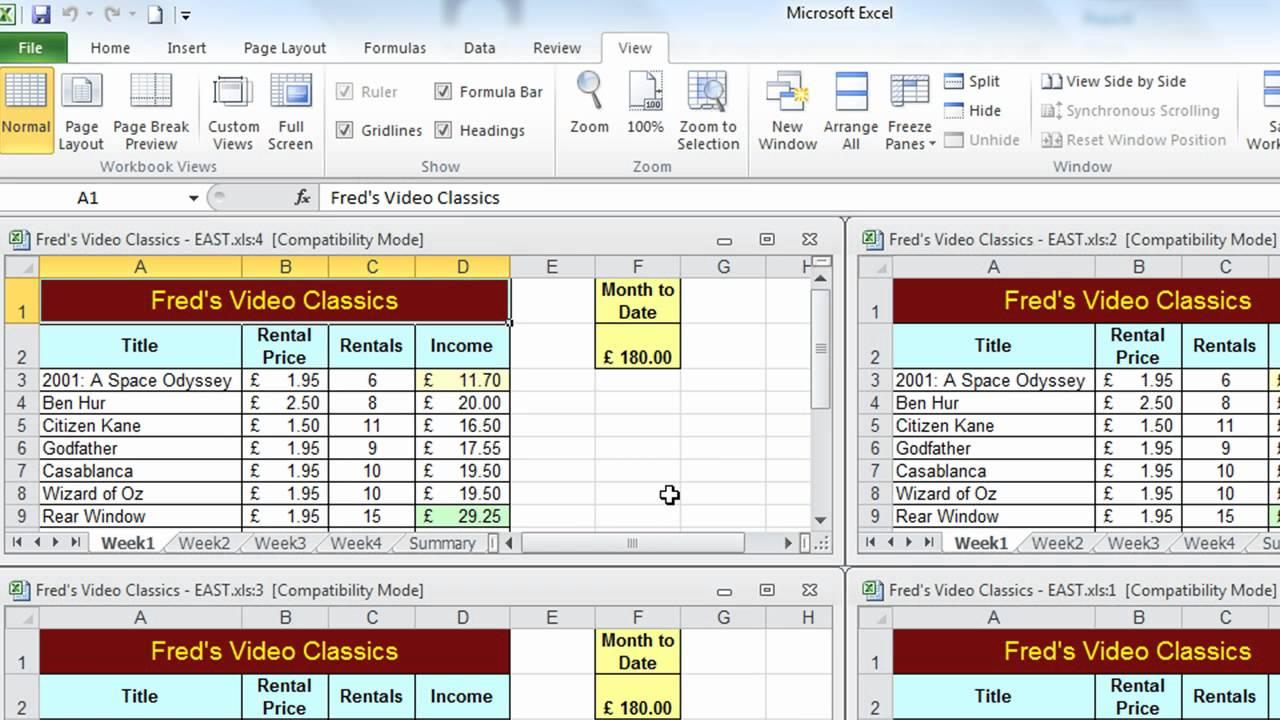 Excel Tip 004