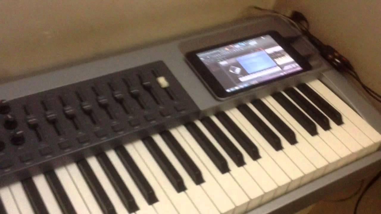 cube iwork 7 tablet pc m audio keystation pro 88 midi keys music studio youtube. Black Bedroom Furniture Sets. Home Design Ideas
