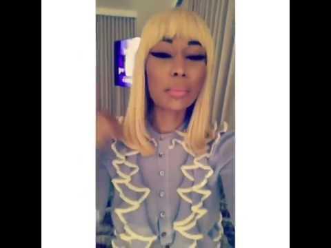 Unbelievable!! Nicki Minaj singing Tasha Cobb's song #Your Spirit that
