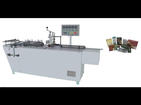Semi automatic Cellophane Wrapping Machine For  Soap Transparent Film Packing Equipment