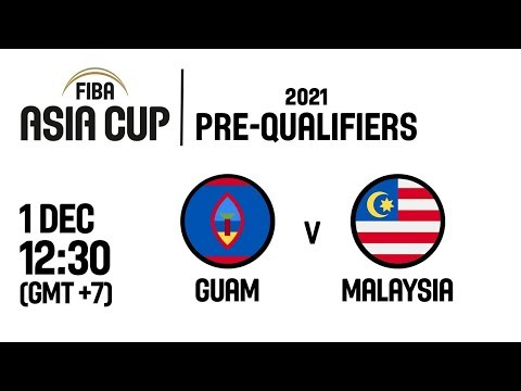 Guam v Malaysia - Full Game - FIBA Asia Cup 2021 Pre